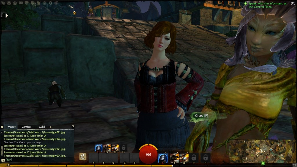 Sthel Thomas in Lion's Arch - Guild Wars 2